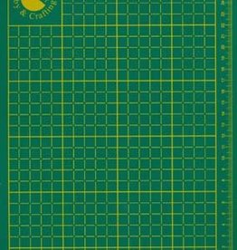 Hobby Crafting & Fun snijmat Cutting mat, Green, 220x300x2mm, 1 pce/ bag