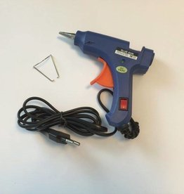 Hobby Crafting & Fun Glue gun with on/off switch & indicator, 20w, 110-240v/blistercard