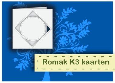 Romak kaarten K3 verpakking 3 stuks