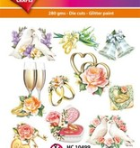 Hearty Crafts Easy 3D-Toppers Wedding Day
