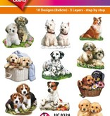 Hearty Crafts Easy 3D-Toppers Dog