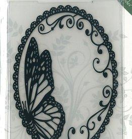 Romak Embossing folder Butterfly