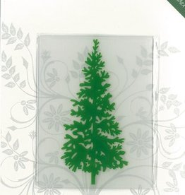 Romak Embossing folder Christmas tree