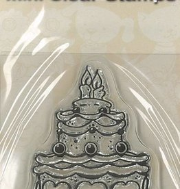Pigo Productions Mini Clear Stamps - Taart