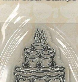 Pigo Productions Mini timbres transparents - Gâteau