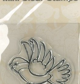 Pigo Productions Mini Clear Briefmarken - Vogel