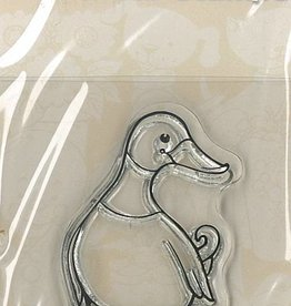 Pigo Productions Mini Clear Briefmarken - Ente