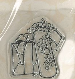 Pigo Productions Mini Clear Stamps - Cadeau