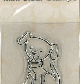 Pigo Productions Mini Clear Stamps - Dog