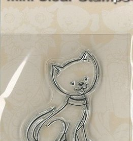 Pigo Productions Mini Clear Briefmarken - Cat