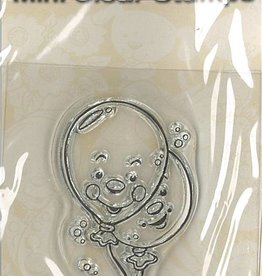 Pigo Productions Mini Clear Stamps - Ballon