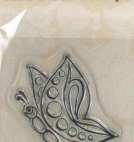 Pigo Productions Mini timbres transparents - Papillon