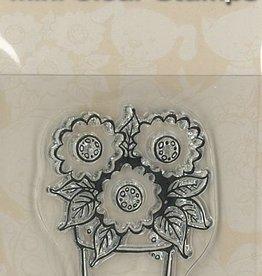 Pigo Productions Mini timbres transparents - Fleurs