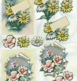 Gestanzte Blumen