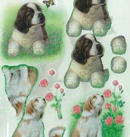 Stanzbogen Hunde