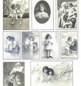 Hobbytheek Fotoblätter nostalgisch