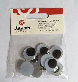 Rayher Stitch-wobbly eye