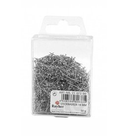 Rayher Pins, 14 mm, Box 50g (1400 pcs.)