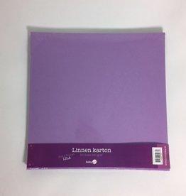 Hobby Idee Leinenpappe Scrap Lilac
