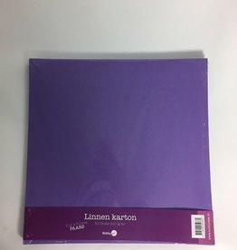 Hobby Idee Carton de lin Scrap Purple