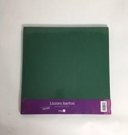 Hobby Idee Linen cardboard Scrap Green