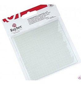 Rayher 3D foam tape, 5x5x1mm, 100x100x1 mm