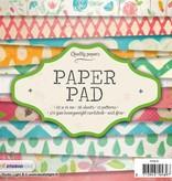 Studiolight Paper Pad 15 x 15 cm, 36 sheets, 12 patterns nr.81