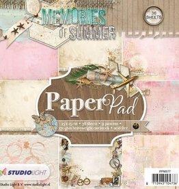 Studiolight Studio Light Papierblock Erinnerungen des Sommers PPMS77