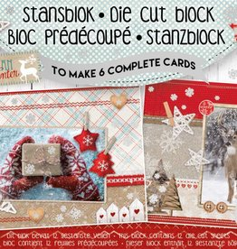 Studiolight Stansblok A5 Die Cut Folie, Scandinavian Winter nr.13