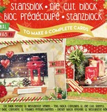Studiolight Stansblok A5 Die Cut Folie, Traditional Christmas nr.16