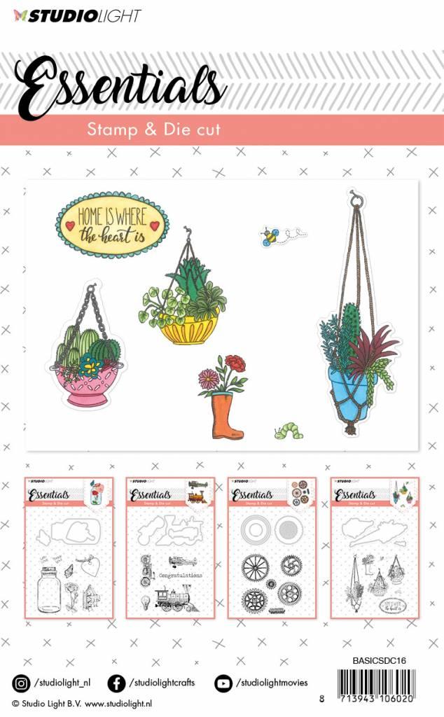 Studiolight Stamp & Die Cut (1) A6 Essentials nr.16