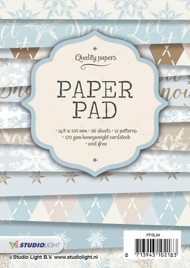 Studiolight Paper Pad Blok 200 gr. A6, nr.94