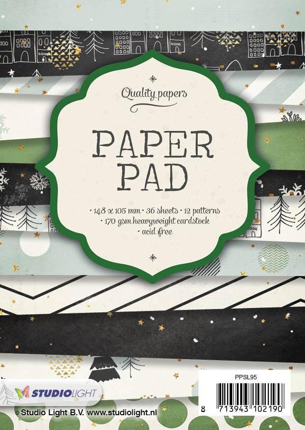 Studiolight Paper Pad Blok 200 gr. A6, nr.95