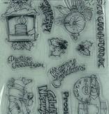 Pigo Productions Pigo Clear Stamps A5 Kerst