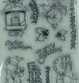 Pigo Productions Pigo Clear Stamps A5 Kerst
