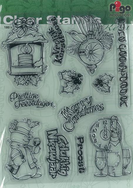 Pigo Productions Pigo Clear Stamps A5 Christmas