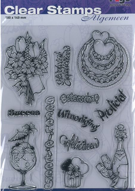 Pigo Productions Pigo Clear Stamps A5 General