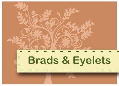 Brads und Ösen