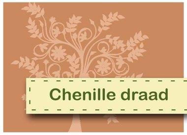 Fil chenille et pompons