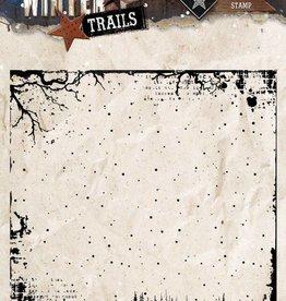 Studiolight Stamp (1) 14x14 Background Winter Trails, nr. 304