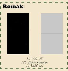 Romak Romak Kaart 125 stuks