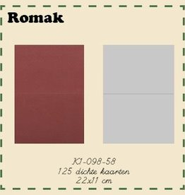 Romak Romak Card 125 pieces
