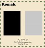 Romak Romak kort 125 stk