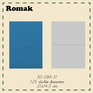 Romak Romak Card 125 pieces