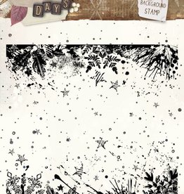 Studiolight Stamp (1) 14x14 Background Winter Days, nr. 315