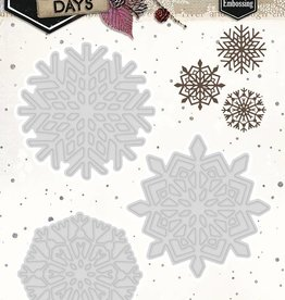 Studiolight Cutting and Embossing Die 109 x 93 mm, Winter Days, nr.109