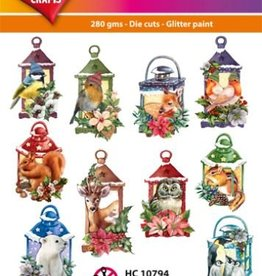 Hearty Crafts Easy 3D-Toppers Lantern + Animals