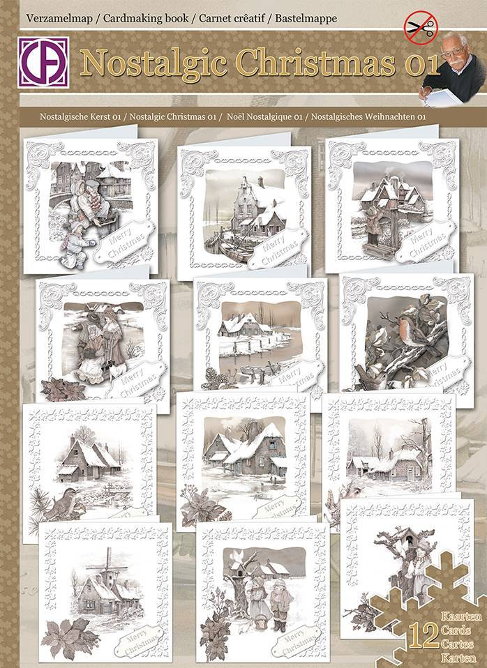 Creatief Art Nostalgic Christmas 01