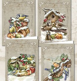 Creatief Art Christmas Animals 02