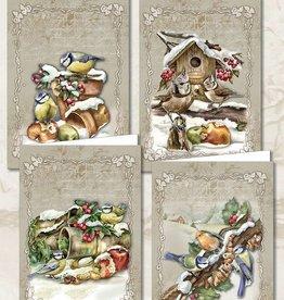 Creatief Art Weihnachtstiere 02